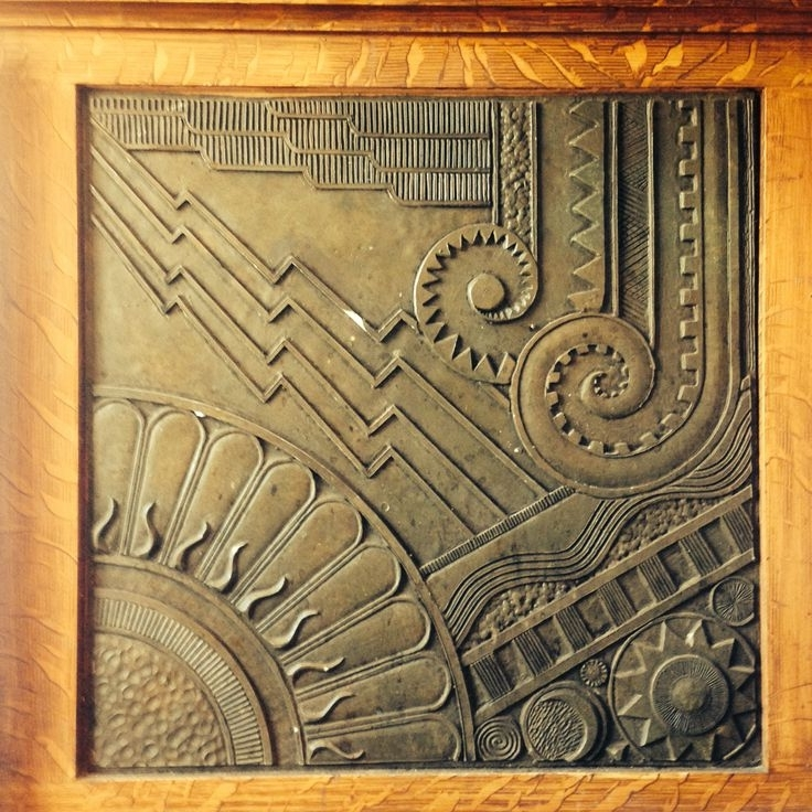 Preferred Art Deco Wall Art – Arsmart Intended For Art Deco Metal Wall Art (View 14 of 15)