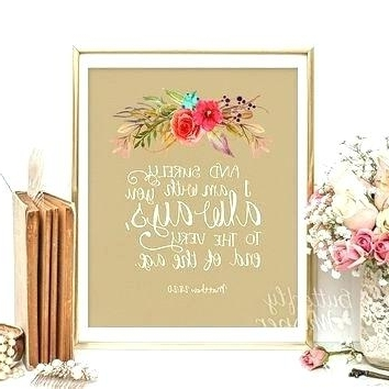 Preferred Canvas Wall Art For Nursery Scripture Canvas Wall Art Scripture Home Within Christian Canvas Wall Art (View 11 of 15)