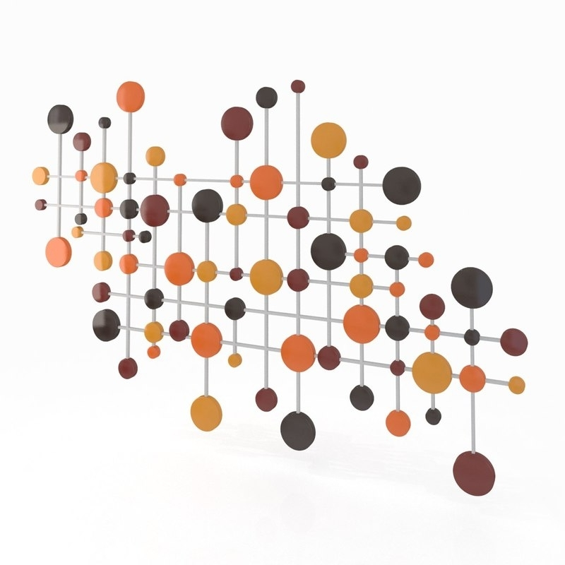 Preferred Circles 3D Wall Art Within 3D Model Wall Art (View 14 of 15)
