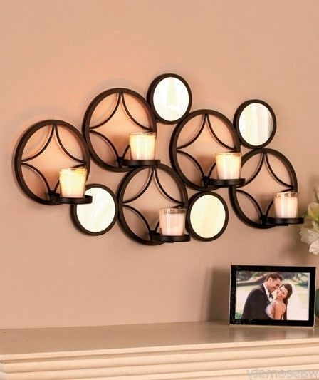 Preferred Circular Metal Wall Decor Modern Wall Art Decor Uk Sconce Candle For Modern Wall Art Uk (View 12 of 15)