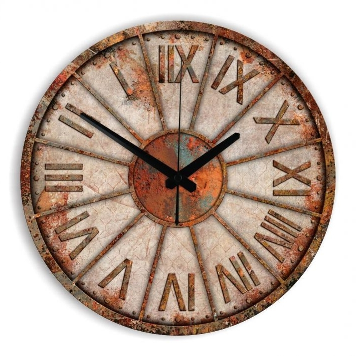 Preferred Cozy Abstract Wall Clock 75 Abstract Metal Wall Art With Clock Intended For Abstract Wall Art With Clock (View 15 of 15)