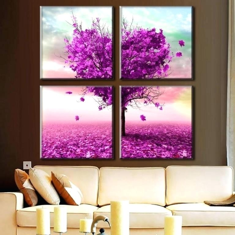 Preferred Dark Purple Abstract Wall Art With Dark Purple Wall Art Living Room Wonderful Dark Purple Wall Art (View 13 of 15)