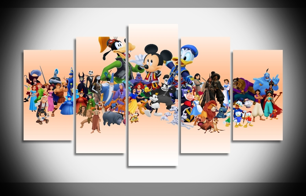 Preferred Disney Canvas Wall Art Throughout Framed Disney Wall Art : Andrews Living Arts – Simple Yet Elegant (View 4 of 15)