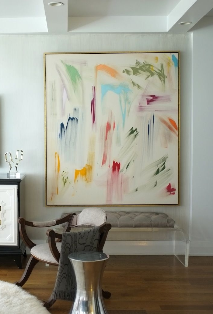 Preferred Giant Abstract Wall Art In Diy Large Art Frame Elegant 60 Best Framing Options & Styles Images (View 3 of 15)