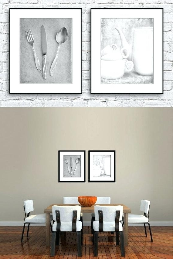 Preferred Kitchen And Dining Wall Art In Unique Kitchen Wall Art Modern Kitchen Wall Canvas Prints With (View 14 of 15)