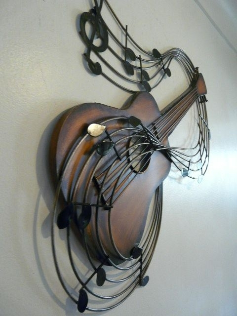 Preferred Music Metal Wall Art Regarding Musical Metal Sculptures (View 10 of 15)