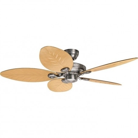 Preferred Outdoor Ceiling Fans With Aluminum Blades Inside Outdoor Ceiling Fan Element Aluminum Brushed Exterior Terrace Ip  (View 13 of 15)