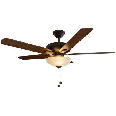 Preferred Outdoor Ceiling Fans With Uplights Within Hampton Bay – Ceiling Fans – Lighting – The Home Depot (View 9 of 15)
