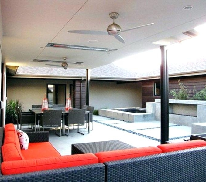 Preferred Outdoor Patio Ceiling Fans Modern Outdoor Ceiling Fans Interior Throughout Contemporary Outdoor Ceiling Fans (View 13 of 15)