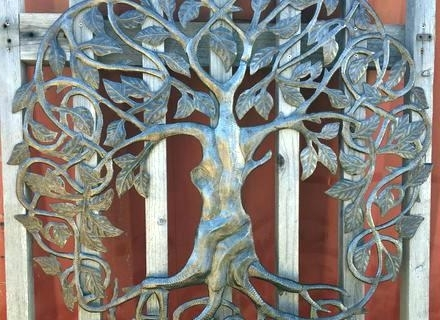 Preferred Outdoor Wall Decor Metal Large Outdoor Wall Art Family Roots Tree Of With Metal Large Outdoor Wall Art (View 11 of 15)