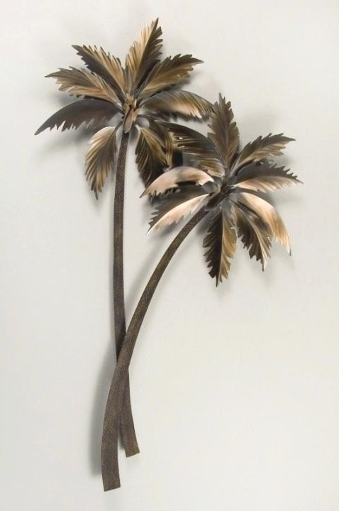 Preferred Palm Tree Metal Art Intended For Palm Tree Wall Decor Ingenious Inspiration Metal Palm Tree Wall Art (View 3 of 15)