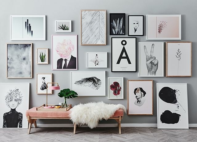 Preferred Poster Prints And Framed Art Too Spice Up Your Boring Walls For Wall Art Frames (View 9 of 15)