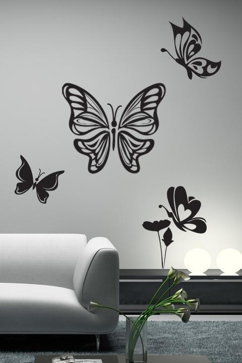 Preferred Rf Image Gallery Website Butterfly Wall Decals – Best Home Design Inside Butterflies Wall Art Stickers (View 13 of 15)
