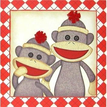 Featured Photo of Sock Monkey Wall Art