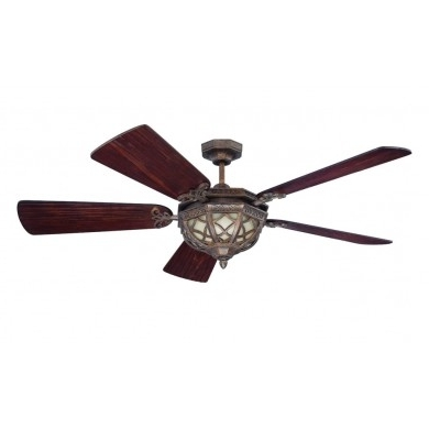Preferred Traditional Outdoor Ceiling Fans Inside Craftmade Eva54Pr Evangeline 54 Inch Traditional/outdoor Ceiling Fan (View 7 of 15)