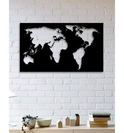 Preferred Unique Custom Designed Wall Decoration Product,world Map Metal Wall Art Pertaining To World Wall Art (View 9 of 15)