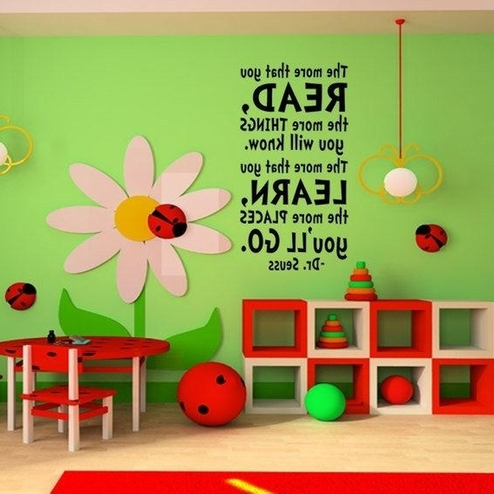 Preschool Wall Art Pertaining To Widely Used  (View 11 of 15)