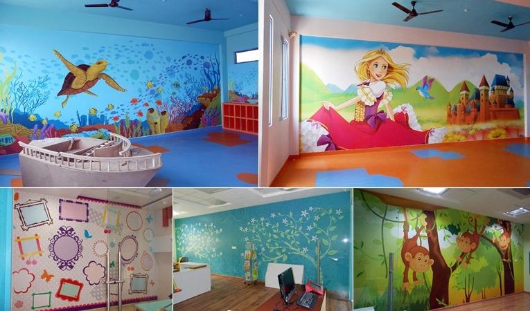 Preschool Wall Decoration For Latest Play School Decor Idea (View 8 of 15)