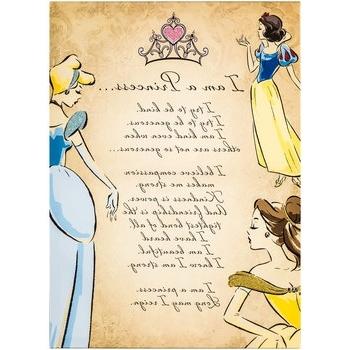 Princess Canvas Wall Art Regarding Current I Am A Princess Canvas Wall Decor (View 8 of 15)
