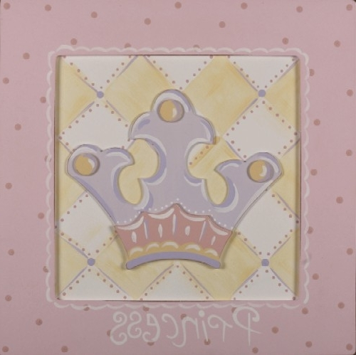 Princess Wall Art – Everything Princesses Pertaining To Widely Used 3D Princess Crown Wall Art Decor (View 6 of 15)