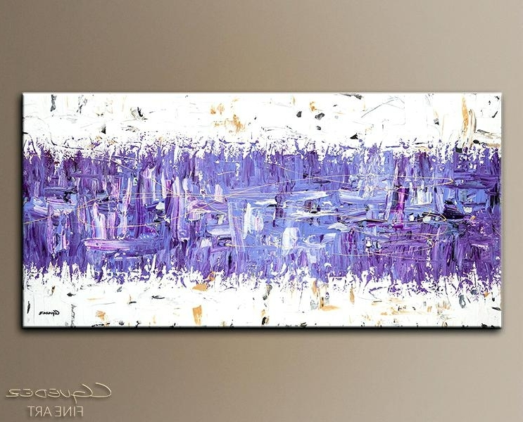 Purple And Green Abstract Wall Art – Fashionnorm (View 14 of 15)