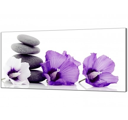 Purple Canvas Wall Art For Well Known Purple Canvas Pictures Prints & Wall Art – Free Delivery (View 13 of 15)