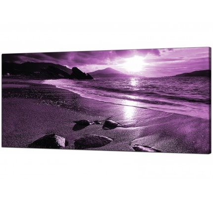 Purple Canvas Wall Art With Latest Purple Canvas Pictures Prints & Wall Art – Free Delivery (View 13 of 15)