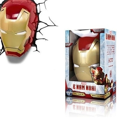 Qoo10 – Marvel Avengers Iron Man 3D Mask Wall Art Decor Night Light For Favorite 3D Wall Art Iron Man Night Light (View 6 of 15)
