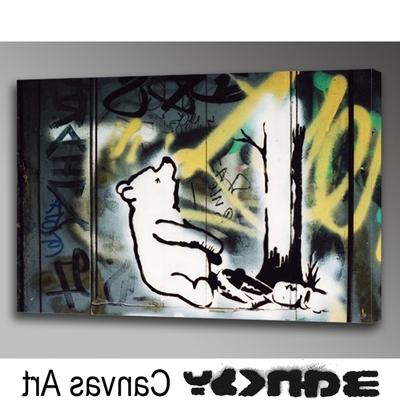 Rakuten Global Market: Banksy Wall Art Art Panel (View 11 of 15)