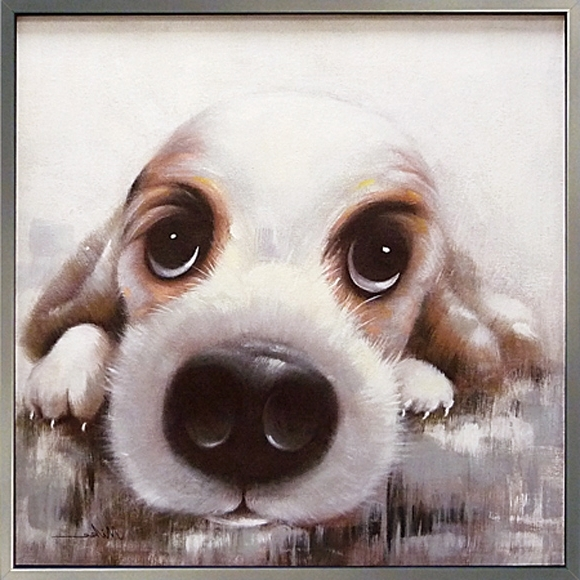 Rakuten Global Market: Healing Art Animal Pet Regarding Most Current Abstract Dog Wall Art (View 15 of 15)