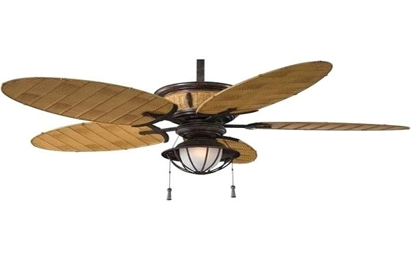 Rattan Ceiling Fans Wicker Hunter Inch White Palm Leaf Fan Outdoor Intended For Fashionable Wicker Outdoor Ceiling Fans (View 10 of 15)