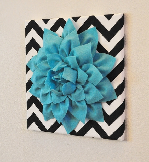 Realvalue – Intended For Turquoise And Black Wall Art (View 10 of 15)