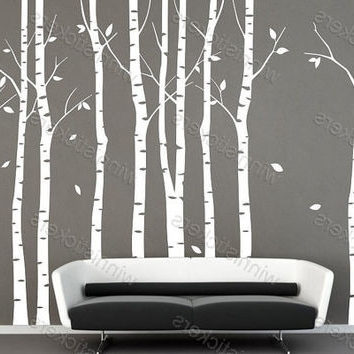 Realvalue – With Aspen Tree Wall Art (View 3 of 15)