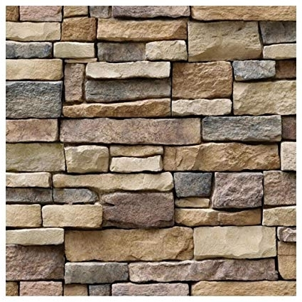 Recent 3D Brick Wall Art Pertaining To Amazon: Brick Wall Backdrop, Inkach 3D Brick Stone Wall Sticker (View 8 of 15)