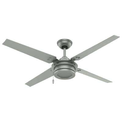 Recent 42 Inch Outdoor Ceiling Fans With Lights Intended For White Ceiling Fans No Lights Indoor Outdoor Matte Silver Ceiling Fan (View 15 of 15)