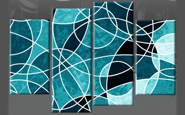 Recent Abstract Circles Wall Art Pertaining To Abstract Circles Wall Art – Nuestro Art (View 14 of 15)
