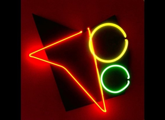 Recent Abstract Neon Art Wall Hanging Sculpture Modern Unique Design (View 13 of 15)