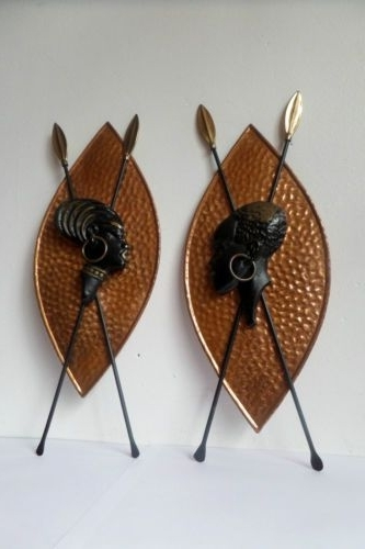 Recent African Metal Wall Art In Wall Art Ideas Design : Ancient African Metal Wall Art Simple (View 14 of 15)