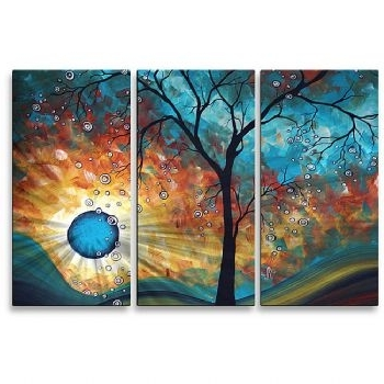 Recent Aqua Burn Modern Canvas Art Abstract Oil Painting Wall Art With Within Aqua Abstract Wall Art (View 13 of 15)