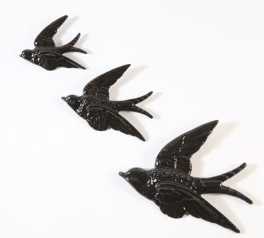 Recent Astounding Ideas Flying Birds Wall Decor Room Decorating Sass Belle Throughout Ceramic Bird Wall Art (View 12 of 15)