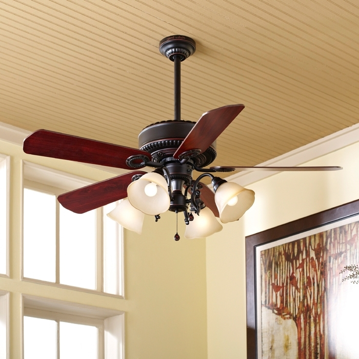 Recent Ceiling Fan Buying Guide Regarding Outdoor Ceiling Fans With Downrod (View 12 of 15)