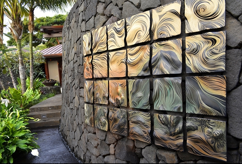 Recent Ceramic Tile Wall Art In Ceramic Wall Art Natalie Blake Studios Ceramic Tile Kitchen Backsplash (View 12 of 15)