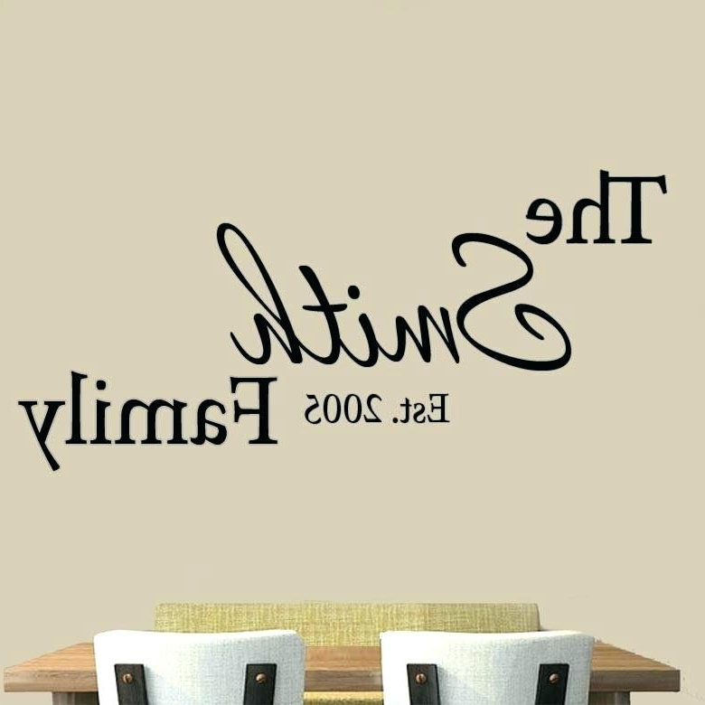 Recent Customized Wall Art Pertaining To Customized Wall Decal And Vinyl Wall Art Decals Graphics Stickers (View 14 of 15)