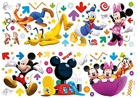 Recent Disney Decofun, Mickey Mouse Clubhouse, Wall Stickers: Amazon.co (View 11 of 15)