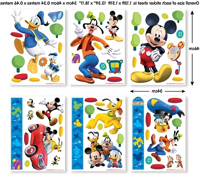 Recent Disney Mickey Mouse Clubhouse Wall Stickers For Mickey Mouse Clubhouse Wall Art (View 13 of 15)