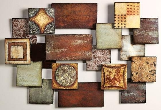 Recent Impressive 15 Modern And Contemporary Abstract Metal Wall Art With Abstract Angkor Swirl Metal Wall Art (View 12 of 15)