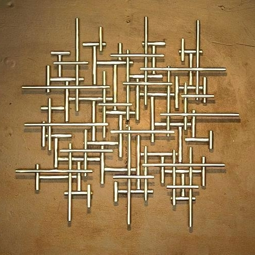Recent Kingdom Abstract Metal Wall Art Inside Metal Wall Art Decor And Sculptures Image Of Cute Metal Wall Art (View 15 of 15)
