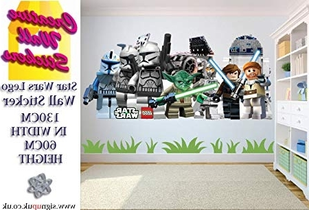 Recent Lego Star Wars Wall Art For Star Wars Lego Extra Large Wall Sticker Childrens Bedroom Wall Art (View 12 of 15)