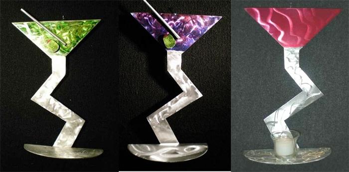 Recent Martini Glass Wall Art Regarding Wall Art Ideas Design : Kristen Hoard Martini Metal Wall Art (View 6 of 15)