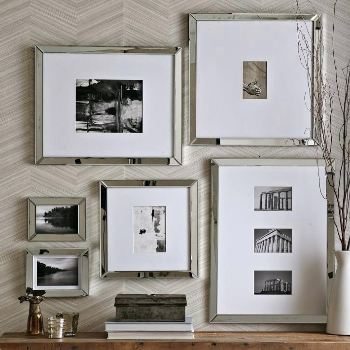 Recent Mirrored Frame Wall Art Intended For Mirrored Frame Wall Art Wall Art Ideas For Dining Room (View 12 of 15)